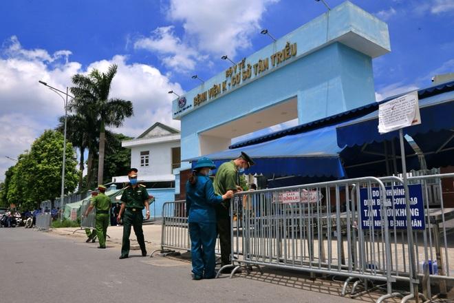 Hà Nội dỡ phong tỏa Bệnh viện K Tân Triều - 1