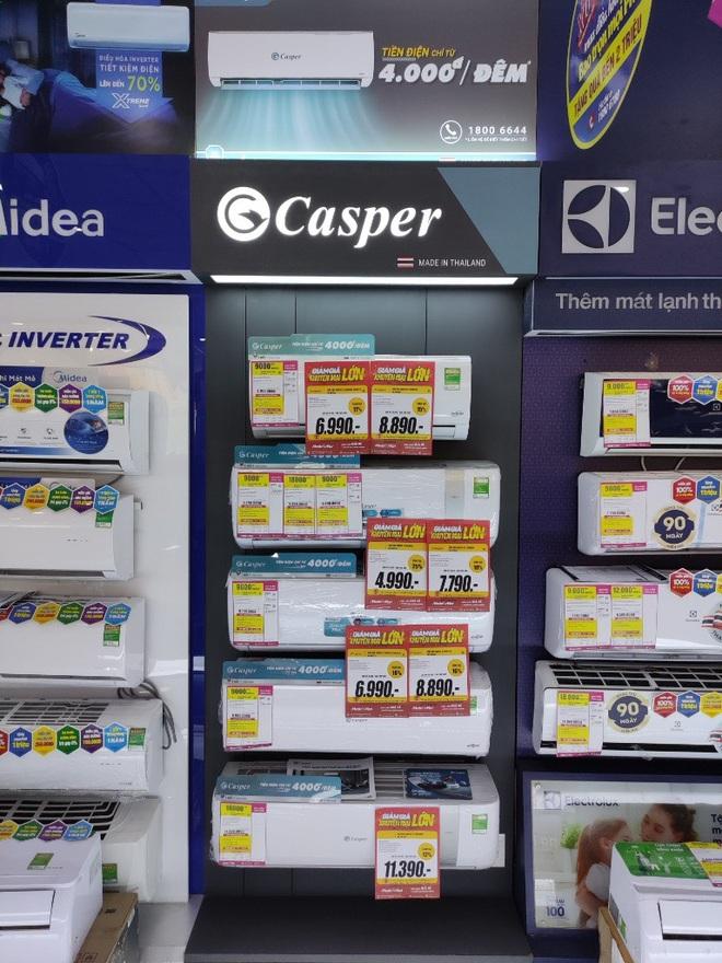 Vì sao thương hiệu Casper thống lĩnh top 3 thị trường điều hòa? - 1