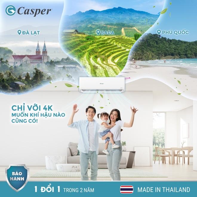 Vì sao thương hiệu Casper thống lĩnh top 3 thị trường điều hòa? - 2