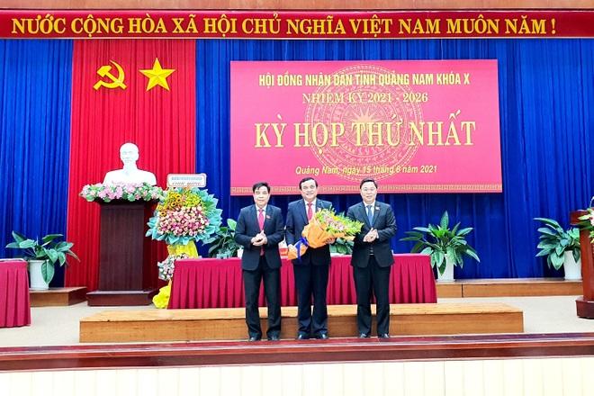 Chủ tịch UBND tỉnh Quảng Nam tái đắc cử nhiệm kỳ mới - 1