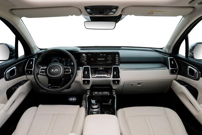 Xe gầm cao 7 chỗ, chọn Kia Sorento All New hay Hyundai SantaFe 2021? - 5