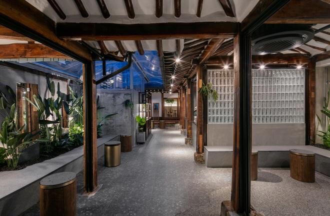 Quán cà phê đẹp như tranh tái hiện kiến trúc nhà cổ Hàn Quốc - 14