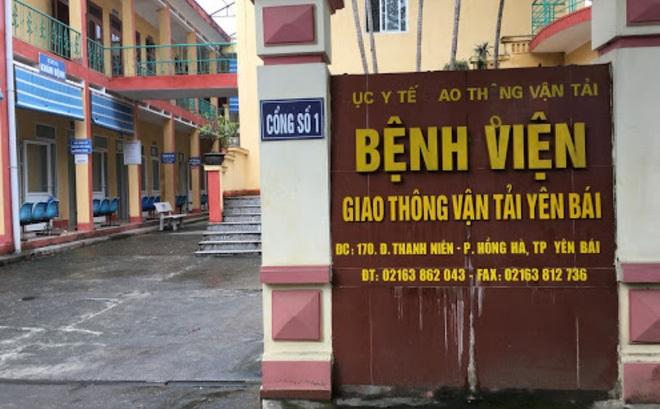 Khởi tố, bắt tạm giam Giám đốc Bệnh viện Giao thông vận tải Yên Bái - 1