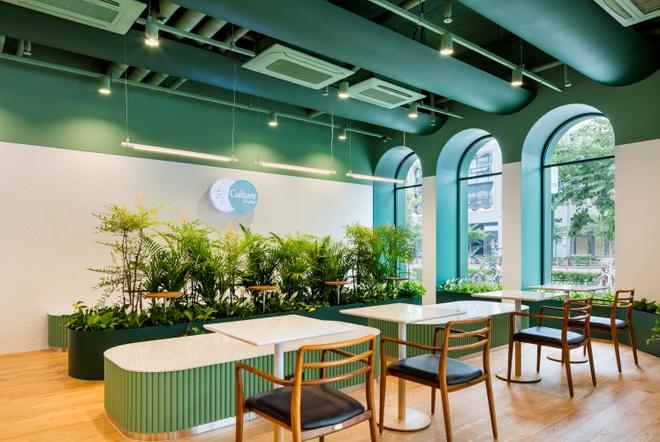 Không gian xanh ton sur ton trong quán cà phê biết xoa dịu tâm hồn - 9