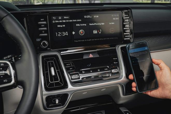 Xe gầm cao 7 chỗ, chọn Kia Sorento All New hay Hyundai SantaFe 2021? - 10