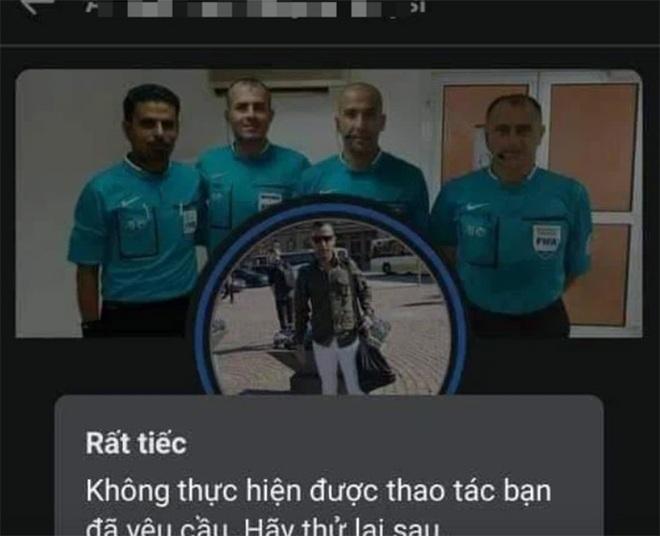 Cộng đồng mạng Việt Nam tấn công, trọng tài Iraq phải khóa tài khoản - 1