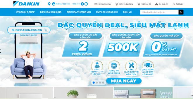 Daikin cung cấp giải pháp mua sắm online theo xu hướng tiêu dùng mới - 1