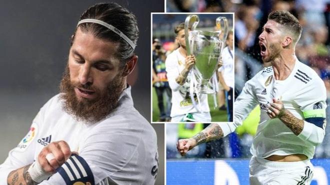 Sergio Ramos chính thức rời khỏi Real Madrid - 1