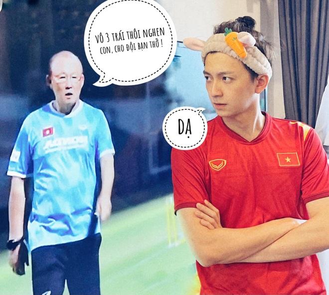 1001 màn cổ vũ bóng đá không giống ai, như đi tấu hài của sao Việt - 12