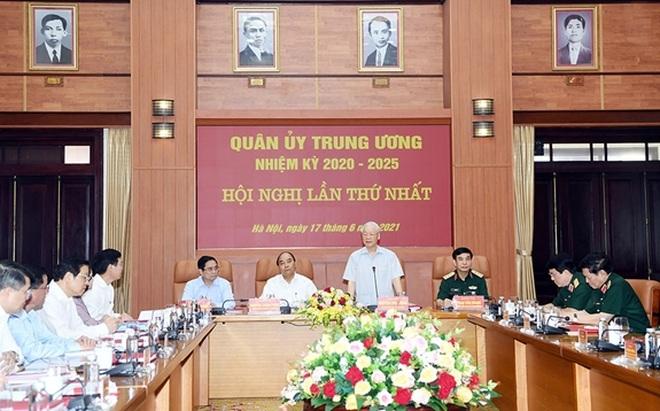 Bộ Chính trị chỉ định nhân sự tham gia Quân ủy Trung ương - 2