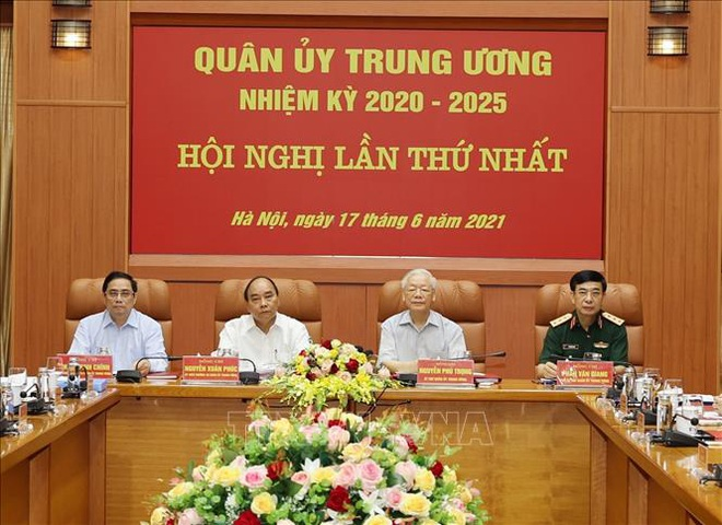 Bộ Chính trị chỉ định nhân sự tham gia Quân ủy Trung ương - 1