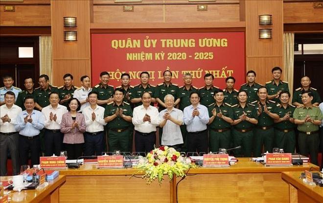 Bộ Chính trị chỉ định nhân sự tham gia Quân ủy Trung ương - 3