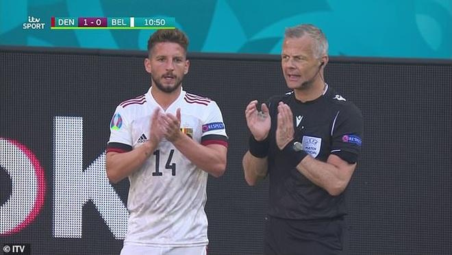 Hành động cực đẹp của đội tuyển Bỉ để tri ân Eriksen - 2