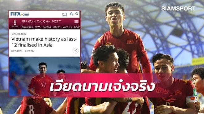 Báo Thái Lan: Đội tuyển Việt Nam là số một Đông Nam Á! - 1