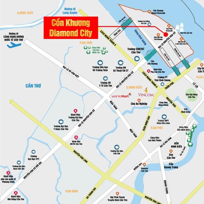 Phân tích vị trí tiềm năng dự án Cồn Khương Diamond City - 2