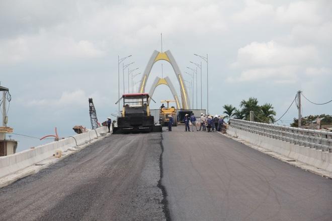 See the 400 billion VND bridge shaped like a grain of rice connecting Hai Phong - Hai Duong - 4