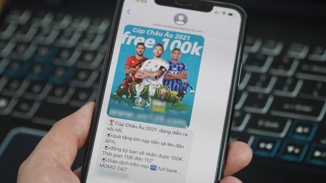 Quảng cáo cá độ bóng đá mùa Euro tấn công người dùng iPhone - 1