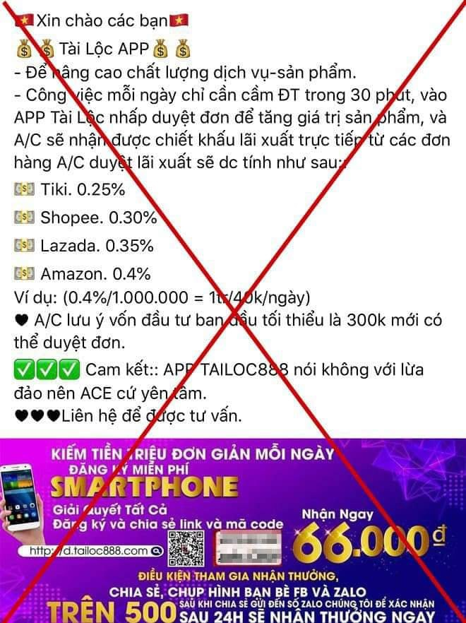 Công an Hà Nội cảnh báo về App kiếm tiền nóng hổi - 3