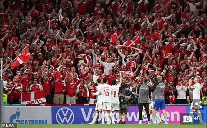 Đội tuyển Đan Mạch đánh dấu cột mốc kỳ lạ tại Euro 2020 - 2