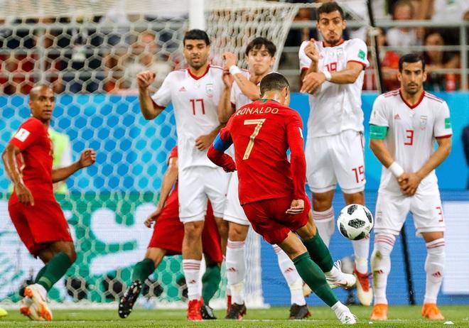 C.Ronaldo tệ khủng khiếp trên chấm đá phạt ở các giải lớn - 2