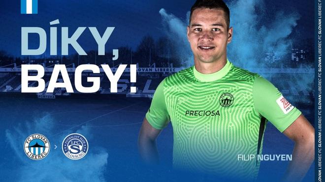 Thủ môn Filip Nguyễn tìm được đội bóng mới ở CH Séc - 1