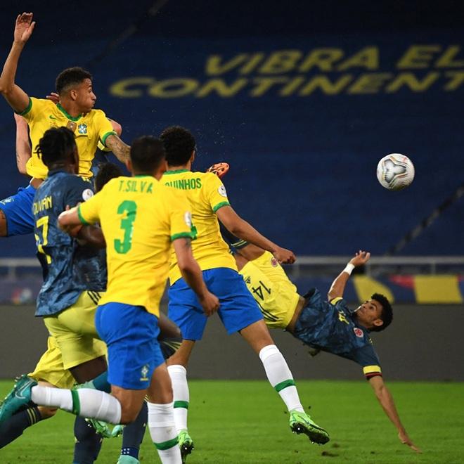 Firmino và Casemiro ghi bàn, Brazil nhọc nhằn đánh bại Colombia - 1