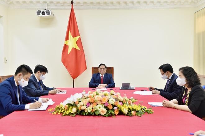 Thủ tướng đề nghị WHO ưu tiên để Việt Nam sớm nhận thêm vắc xin Covid-19 - 1