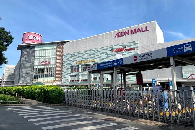 TPHCM: Aeon Tân Phú tạm đóng cửa do liên quan ca nghi mắc - 1