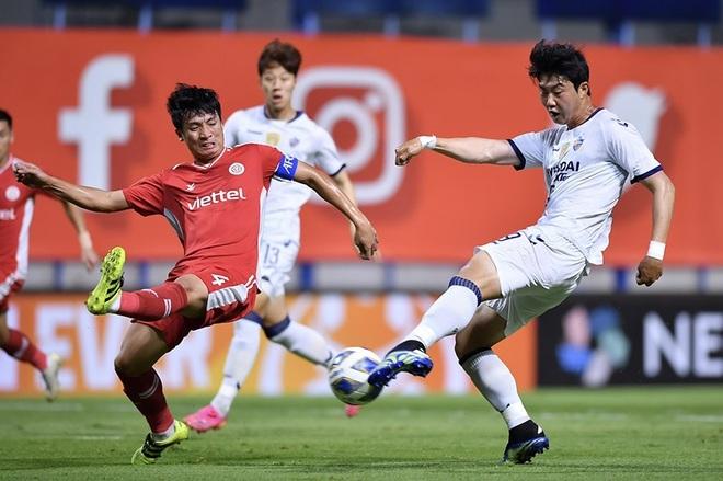 Bùi Tiến Dũng nói gì sau khi CLB Viettel thua đau đớn đội bóng Hàn Quốc? - 1