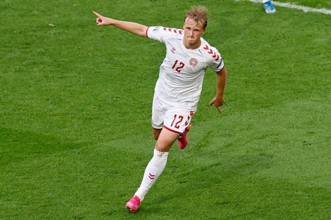 Đè bẹp Xứ Wales, những chú lính chì Đan Mạch vào tứ kết Euro 2020 - 1