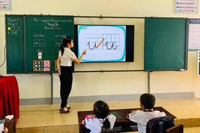 Vinh quang như giáo viên lớp 1 - 2