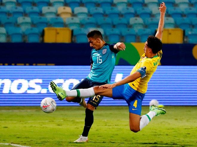 Hòa Ecuador, Brazil bất bại ở vòng bảng Copa America 2021 - 2