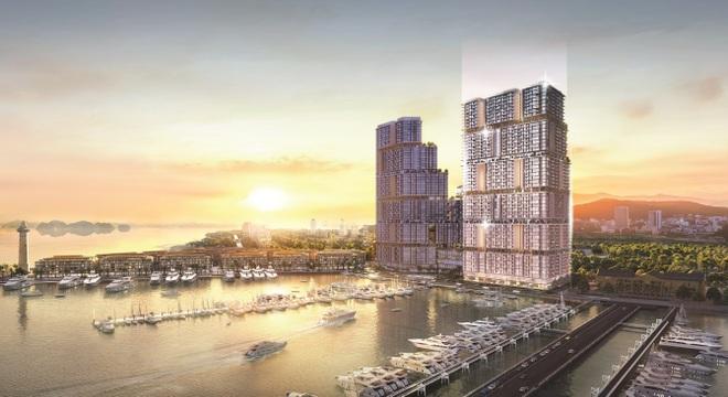 Ra mắt tòa tháp mới tại tổ hợp Sun Marina Hạ Long bên Vịnh Du thuyền - 1