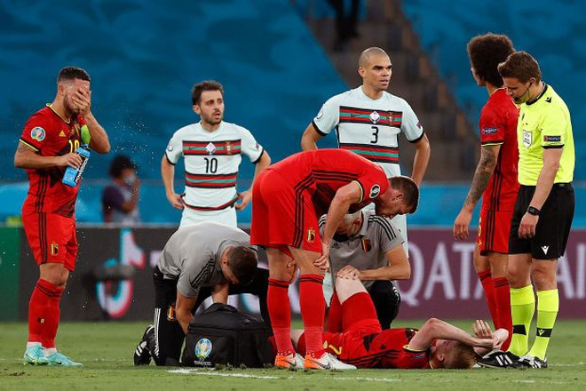 Đội tuyển Bỉ trả giá cực đắt sau chiến thắng trước Bồ Đào Nha - 2