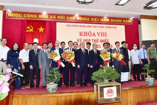 Ông Nguyễn Văn Phương được bầu làm Chủ tịch UBND tỉnh Thừa Thiên Huế - 2