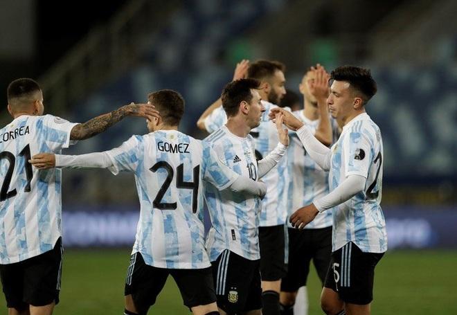 Messi đi vào lịch sử, Argentina gặp Ecuador ở tứ kết Copa America - 2