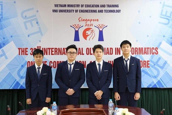 Việt Nam đoạt 4 Huy chương Bạc Olympic Tin học quốc tế 2021 - 1