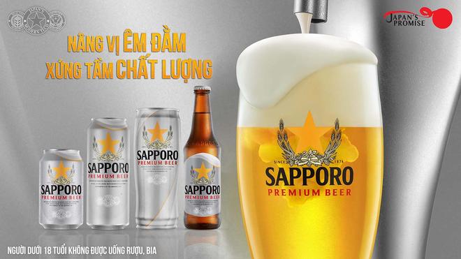 Bia Sapporo Premium - hành trình đồng hành cùng những khoảnh khắc tận hưởng - 1