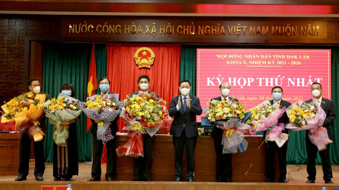 Ông Phạm Ngọc Nghị tái đắc cử Chủ tịch UBND tỉnh Đắk Lắk - 1