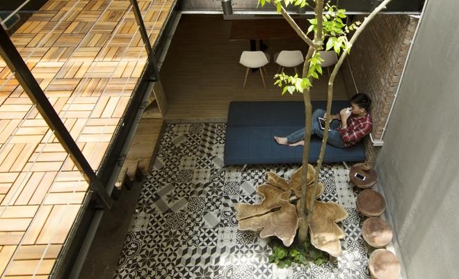 Căn nhà 46 m2 độc đáo trong ngõ nhỏ Hà Nội - 4