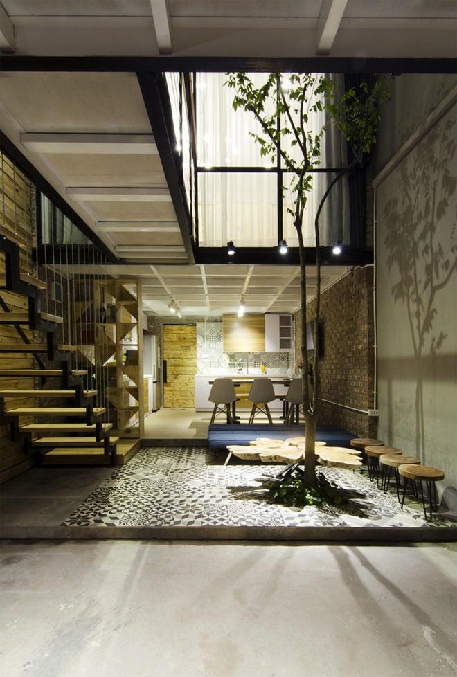 Căn nhà 46 m2 độc đáo trong ngõ nhỏ Hà Nội - 3
