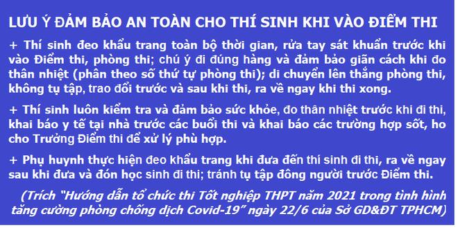 NÓNG: Học sinh TPHCM vẫn thi tốt nghiệp THPT vào ngày 7 và 8/7 - 3