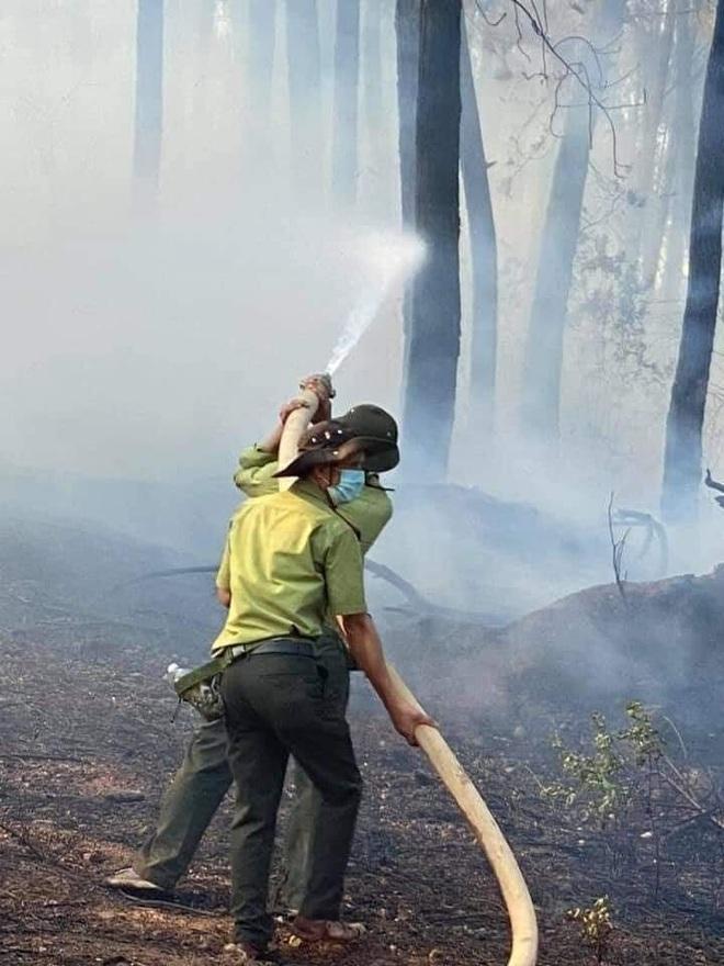 Đám cháy rừng lớn nhất 30 năm qua ở Thừa Thiên Huế đã được dập tắt - 7