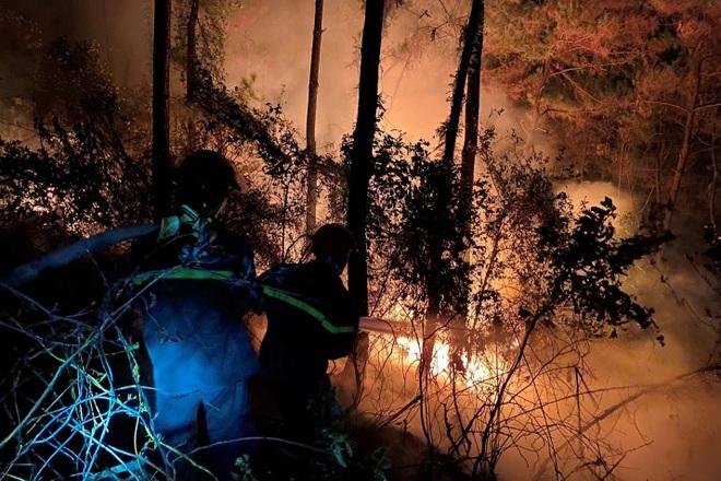 Đám cháy rừng lớn nhất 30 năm qua ở Thừa Thiên Huế đã được dập tắt - 4