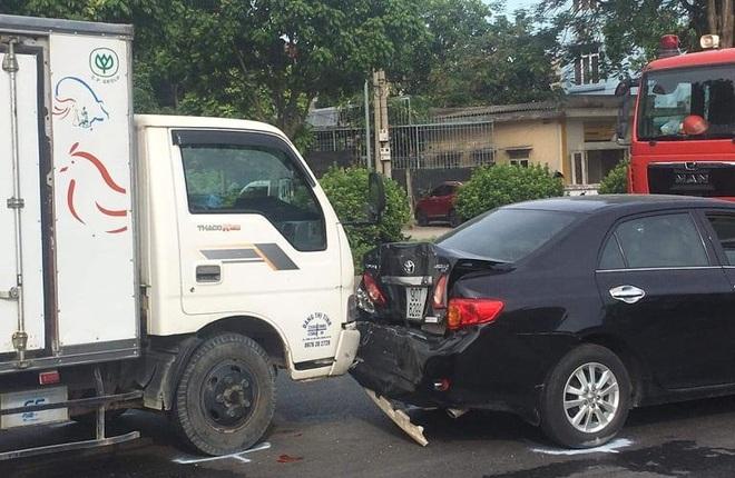 Tai nạn liên hoàn giữa 9 ô tô, 1 người tử vong - 5
