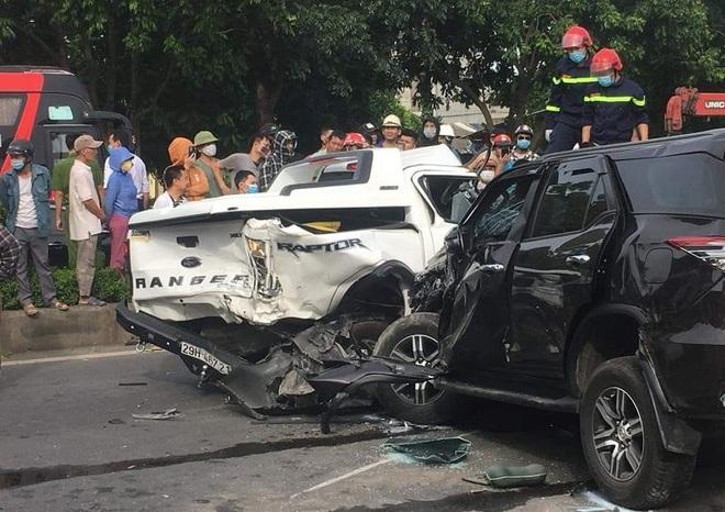 Tai nạn liên hoàn giữa 9 ô tô, 1 người tử vong - 6