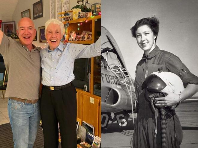Cụ bà 82 tuổi - vị khách đặc biệt cùng tỷ phú Jeff Bezos bay vào không gian - 1