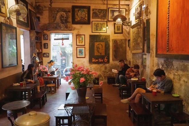 Một số gợi ý thiết kế quán cà phê mang phong cách hoài niệm, xưa cũ - 1
