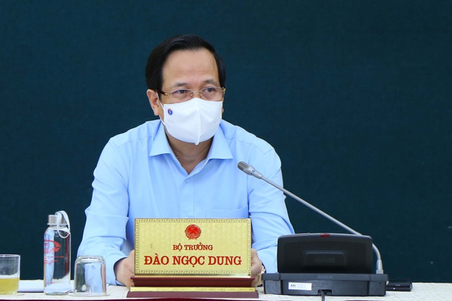 Bộ trưởng Đào Ngọc Dung thúc tiến độ dự án đầu tư công - 1