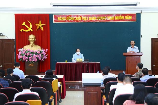 Bộ trưởng Đào Ngọc Dung thúc tiến độ dự án đầu tư công - 2